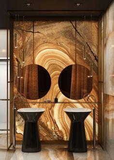 the Sun p.2 - Дизайн интерьера Киев   Студия дизайна интерьера   HE.D group Washroom Design, Toilet Design, Bathroom Design Luxury, Bath Design, Modern Bathroom, Luxury Homes Interior, Modern Interior Design, Bar Lounge, Onyx Marble