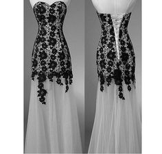 Sexy Black Vintage Lace Up Modest Elegant Plus Size Long Prom Evening Gowns Dresses For Wedding Junior 2014 Cheap Formal Dress Simple ll229 on Etsy, $166.00