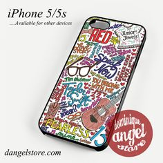taylor swift collage Cool Phone case for iPhone 4/4s/5/5c/5s/6/6 plus