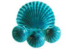 Midcentury Shell Platter on OneKingsLane.com