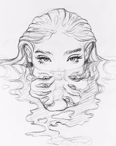 art - art Reference Side View cartoon drawing - Drawing Tips Cool Art Drawings, Pencil Art Drawings, Art Drawings Sketches, Tattoo Sketches, Fantasy Drawings, Easy Drawings, Drawing With Pencil, Tattoo Drawings, Drawings Of Girls