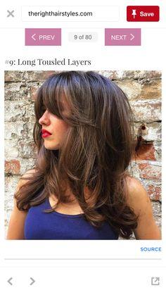 23 Long Hairstyles to Get a Perfect Look This Season Long Layered Haircuts, Haircuts For Long Hair, Long Hair Cuts, Hairstyles Haircuts, Pretty Hairstyles, Layered Hairstyles, Haircuts With Layers, Haircut Long Hair, Layer Haircuts