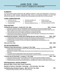 nurse assistant cna resume example. Resume Example. Resume CV Cover Letter