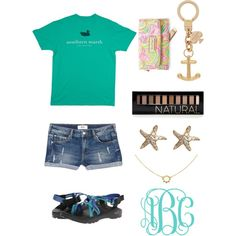 Cute outfit by ktanner02 on Polyvore featuring polyvore, fashion, style, MANGO, Chaco, Lilly Pulitzer, Kate Spade, Annoushka, Agnes de Verneuil and Forever 21
