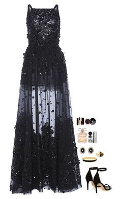 """""""Untitled #396"""" by h1234l on Polyvore featuring Elie Saab, Isabel Marant, Halcyon Days, Givenchy, Eddie Borgo, Bobbi Brown Cosmetics and Chanel"""
