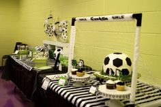 Soccer Birthday Party Ideas | Photo 4 of 26 | Catch My Party