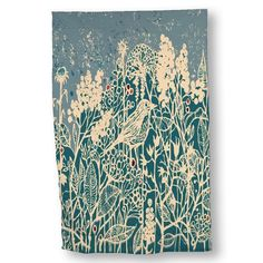 Luxurious Microfiber Hand Towel Multipurpose Highly Absorbent Extra Soft Wash Cloth with Personalized Hedge Bird by Erica Dornbusch Custom Printed Hand Towels 155 x 245 -- Want to know more, click on the image.