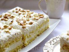 Kokosowe ciasto z migdałami