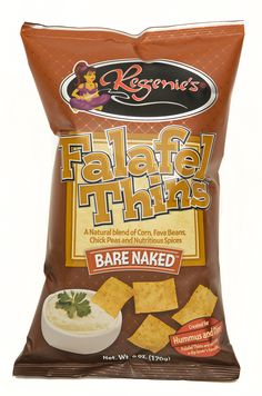 Regenie's Bare Naked Falafel Thins was created from a Mediterranean recipe. They are made using a natural blend of fava beans, chick peas, corn and an exotic blend of healthy spices; cumin, cloves, marjoram and allspice.  Adds amazing flavor to soup or salad!