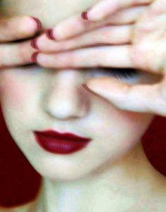 Scorpios dark red kiss - http://www.simplysunsigns.com