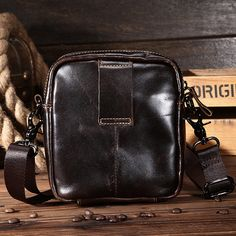 Able Tianhoo Chest Bags Crossbody Man Bag Fashion Designer Casual Sport Men Bags Contrast Color Retro Literary Style For High School Home