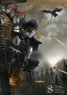 Deadly Unseen Illustration of Assassin's Creed movie 2016 are based on the hugely popular video game franchise which highlights players engaged in rooftop jumping and knife wielding antics throughout historical time periods. Assasin Creed Unity, Assassins Creed Series, Asesins Creed, All Assassin's Creed, Assassin's Creed Movie 2016, Overwatch, Geeks, Anime Krieger, Assassin's Creed Wallpaper