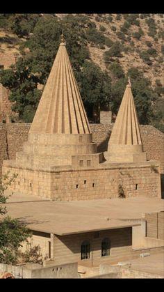 Yazidi Lalish Temple, Kurdistan