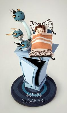 Carlos Lischetti...not a whole cake, but still pretty amazing.