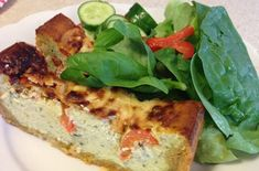 This low carb high protein roasted tomato & ricotta tart takes a little longer than some of the others but it's worth the effort, particularly when we are all entertaining and trying to look for delicious healthy food. Low Carb Recipes, Healthy Recipes, Free Recipes, Protein Lunch, Healthy Eating, Healthy Food, Clean Eating, A Food, Food Swap
