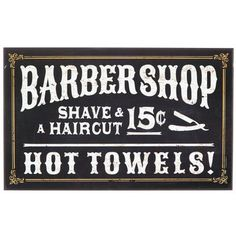 barber shop mdf sign more hobby lobby fashioned barber barber ...