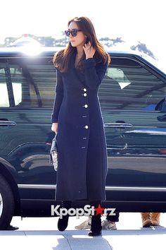 チェ・ジウら、エレガントな大人スタイルで登場!「2014 Mnet Asian Music Award」空港ファッション【写真】