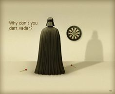 May the Force be with you this weekend! Funny Messages, Just For Laughs, Darth Vader, Jokes, Star Wars, Photoshop, Humor, Funny Shit, Cave