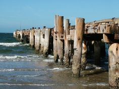 Old prawning jetty Carnarvon Western Australia