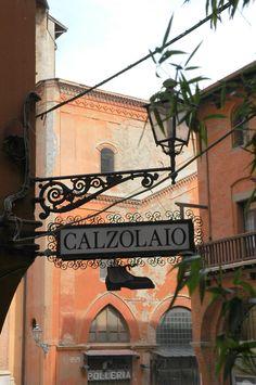 CALZOLAIO (Shoemaker) in Bologna, Italy