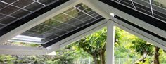 photovoltaic solar panels as patio cover - Google Search