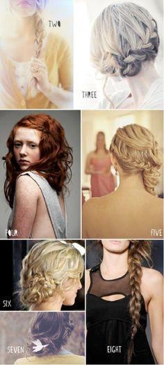Versatile braids.
