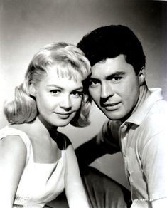 "Gidget & Moondoggie (""Gidget"" 1959) with Sandra Dee & James Darren"