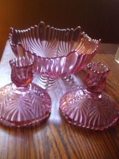 Vintage Pink  Fenton Large Deep Bowl or Candy DIsh by PAULIE22, $69.95
