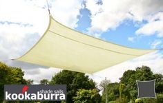 A simple but thorough guide to installing your shade sail. Plan where it will go, how to prepare the area, easily set up the sail and care for it. Garden Sail, Sarah's Garden, Backyard Shade, Patio Shade, House Landscape, Landscape Design, Shade Sail Installation, Fish Ponds, Garden Seating
