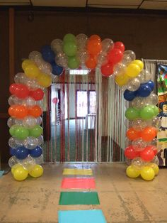 Candy Land- Walk Thru Arch - Balloons Galore & Gifts