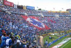 Estadio Azul, home of Mexico City's Cruz Azul soccer team.
