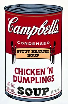 Andy Warhol, Campbell's Soup II (Chicken 'n Dumplings)