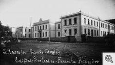 G. Bonfitto. L'edificio scolastico Balilla, inaugurato nel 1933