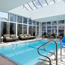 Hilton Garden Inn Chicago Downtown/Magnificent Mile Hotel, IL - Indoor Pool & Whirlpool