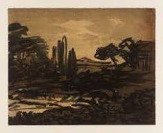 alexander cozens - Google Search Landscape Art, Landscape Paintings, Drawing Studies, Sketch 2, Grisaille, Romanticism, Ancient Art, Artist Painting, Oeuvre D'art