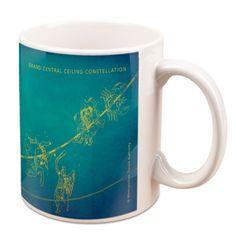 TransitMuseumStore.com Grand Central Ceiling (Constellation) Mug