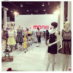 Mood Womens Clothing Booth at the Magic Convention 2013 in Las Vegas #Fashion