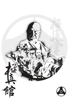 Kyokushinkan by Hardus Jonker, via Behance Kyokushin, Dojo, South Africa, Darth Vader, Behance, Fictional Characters, Behavior