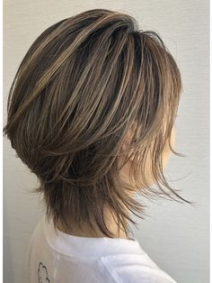 Pin on Hair cuts and colours Pin on Hair cuts and colours Layered Bob Hairstyles, Short Hairstyles For Women, Wig Hairstyles, Medium Hair Styles, Short Hair Styles, Short Hair Wigs, Haircut And Color, Great Hair, Fine Hair