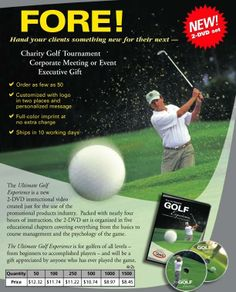 Charity golf tournament prizes