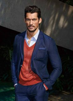 David Gandy for Selected for Homme, Summer 2014. Shot on location in Los Angeles. Hair by Larry King.