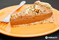 Nutellás sajttorta Tomatotree konyhájából Hungarian Cake, Hungarian Recipes, Dessert Recipes, Desserts, Vanilla Cake, Nutella, Tiramisu, Cheesecake, Food And Drink