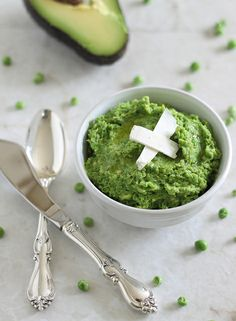 Minty Pea & Avocado Spread | runningtothekitchen.com by Runningtothekitchen, via Flickr - http://www.runningtothekitchen.com/2013/03/minty-pea-avocado-spread/#