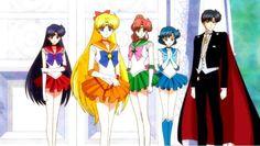 Sailor Senshi & Tuxedo Mask
