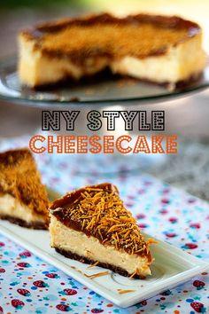Cheesecake New York Style | cozinha pequena