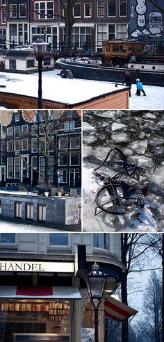Amsterdam - plusieurs articles avec de bonnes adresses de restos, cafés...