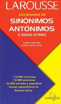 LIBROS: LIBRO DICCIONARIO DE SINÓNIMOS Y ANTONIMOS ... - photo#29