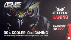 STRIX-R9390X-DC3OC-8GD5-GAMING  ASUS STRIX R9 390 delivers pumped gaming performance and extreme r...