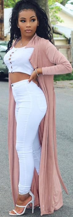 Pink x White // Fashion Look by Aaliyah Jay