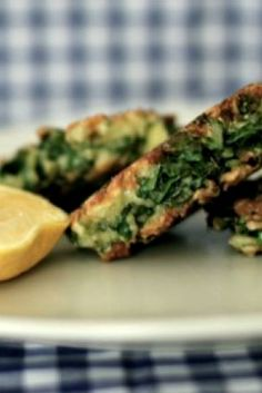 Haloumi and silverbeet fritters Veggie Recipes, Baby Food Recipes, Vegetarian Recipes, Cooking Recipes, Healthy Recipes, Free Recipes, Patties Recipe, Homemade Baby Foods, Fruit And Veg